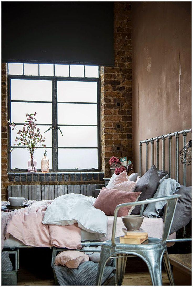 Chic feminine warehouse home   Daily Dream Decor
