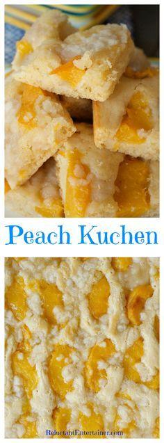 Peach Kuchen                                                                                                                                                                                 More