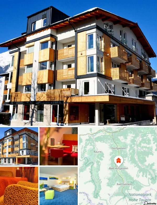 Cet hôtel est situé à seulement 150 m du centre de Bad Hofgastein, de ses magasins et de son épicerie, ainsi qu'à 450 m du domaine skiable et du train de montagne Ski-Amadé. Compter 110 km pour rejoindre la ville autrichienne de Salzbourg.