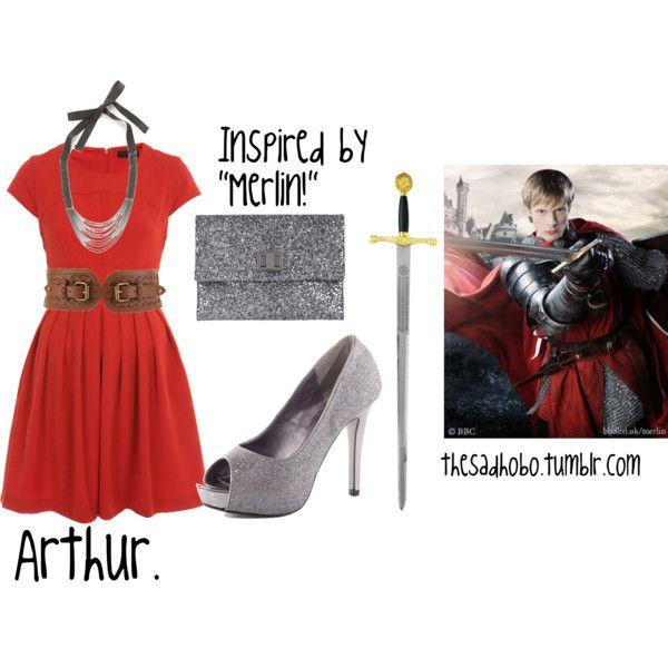 King Arthur inspired fashion.