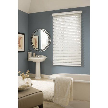 from richfield studio 25 inch faux wood blind white 64 inch length