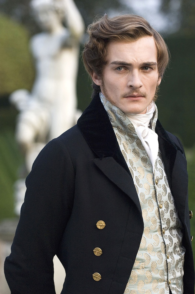 "Love the clothing from ""The Young Victoria"". Rupert Friend was such a dashing Price Albert too."