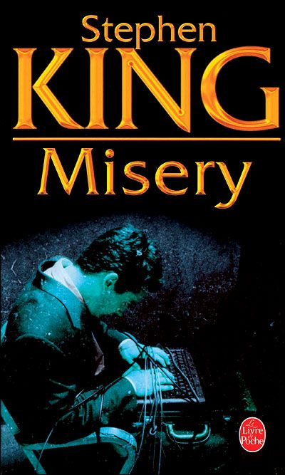 Misery by Stephen King- I don't read many Stephen King books but this one was my favorite <3