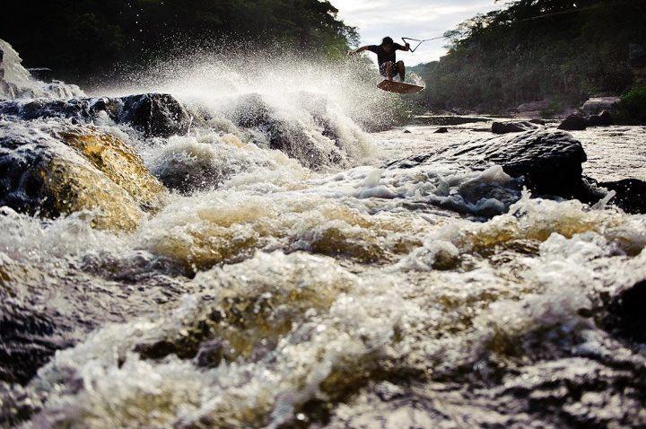 wakeboarding in serra do cipo