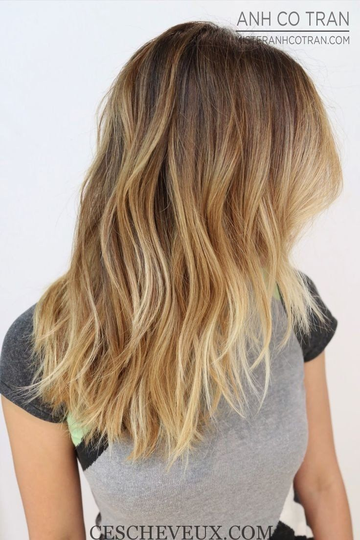 Blond Ombre Coiffure