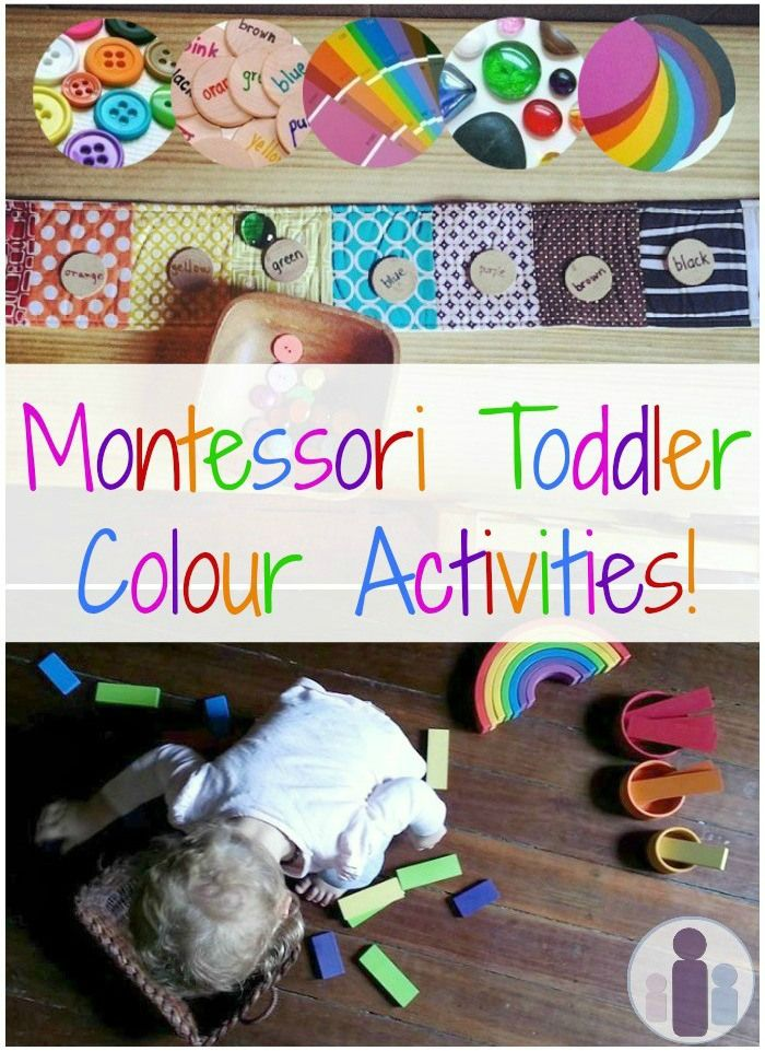 Montessori Toddler Color Activities