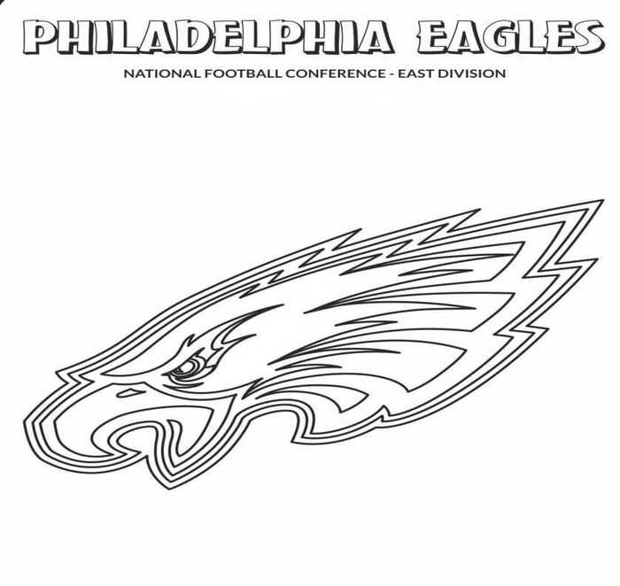 Philadelphia Eagles Coloring Pages Printable Free Coloring Sheets Football Coloring Pages Philadelphia Eagles Colors Coloring Pages