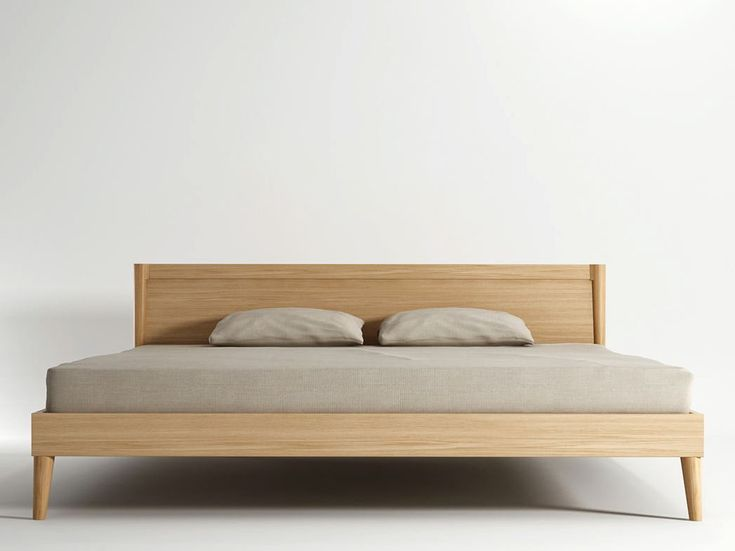 Wooden king size bed Vintage Collection by KARPENTER | design KARPENTER