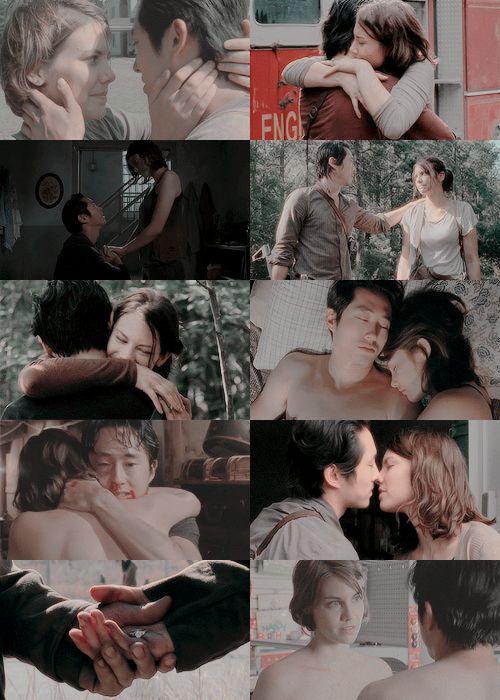 Glenn and Maggie #TWD