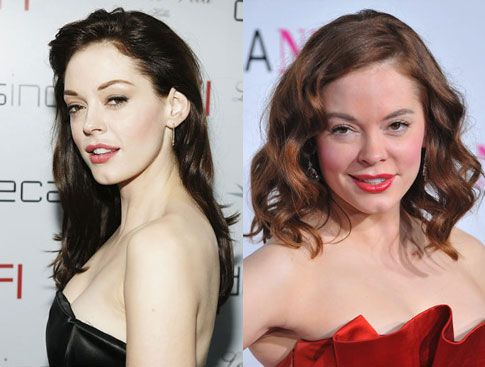 Rose Mcgowan Plastic Surgery Before and After.. So interesting to watch this