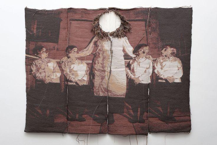 Jonny Briggs   Large tapestry   2014   Tapestry   120x110 cm