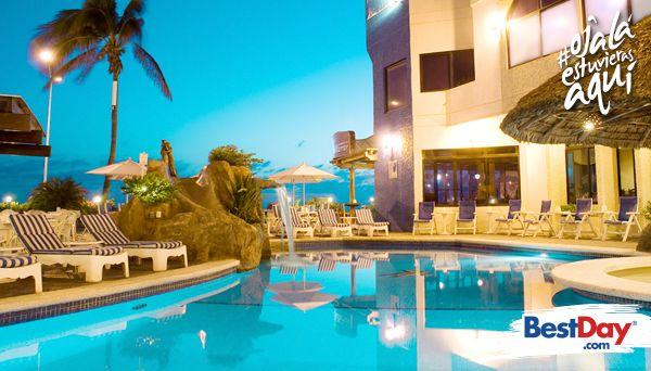 Olas Altas Inn Hotel and Spa, es un conveniente hotel de 84 habitaciones para viajeros de negocios, ya que además de ofrecer funcionales instalaciones y servicios, cuenta con una conveniente ubicación en el área de la vida nocturna deMazatlán y a escasos minutos de la famosa Zona Dorada. Cuenta con palapas, seguridad las 24 horas e Internet inalámbrico gratuito, además de servicios de spa para la relajación. #OjalaEstuvierasAqui