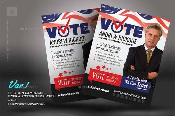 Political Flyer Templates