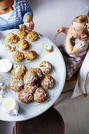 Filmjölksscones / Bröd ~ Recept | Leila Lindholm (leila.se)