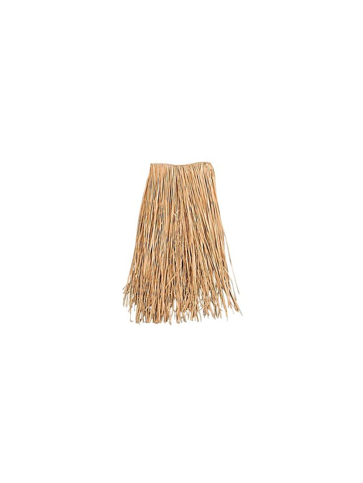 Raffia 22 Inch Grass Skirt Costume | Girls Luau Costumes