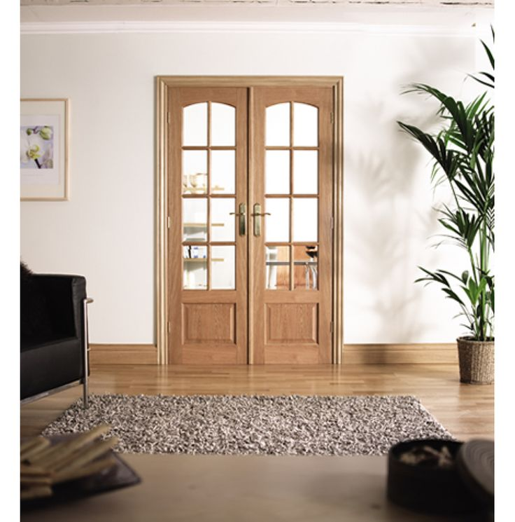 Internal French Doors with Multiple Designs in Every Colour  #homedecor #interiordesign