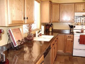 Just Add Some Java: Paint Laminate Countertops