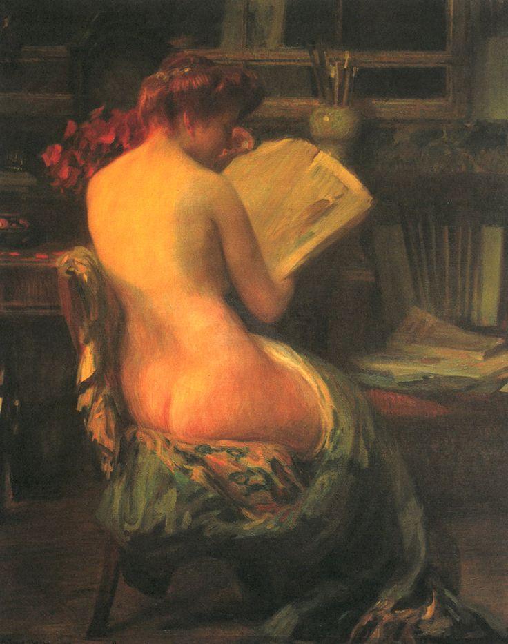 Arturo Noci, Nello studio, 1905