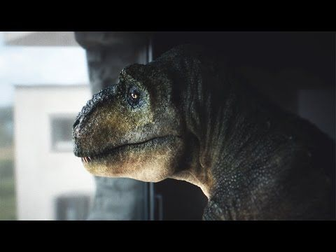 Audi Makes Self-Driving Vehicles Seem Normal By Putting A T-Rex At The Wheel - http://www.psfk.com/2016/09/audi-t-rex-ad-campaign-makes-self-driving-vehicles-seem-normal.html