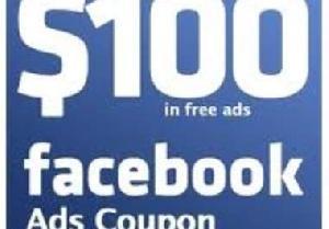 Comme le titre l'indique, vous obtiendrez deux coupons de 50 $ de publicité Facebook .    50 $ coupon facebook valide pour les nouveaux ou existants comptes moins de 21 jours même si vous utilisez des coupons déjà (à l'exception de cela de 50 $).  Seul un coupon par compte! Quantité est limitée,   commandez dès maintenant!