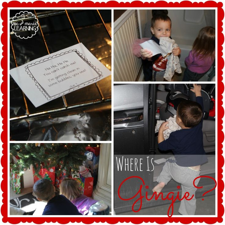 The Gingerbread Hunt {with printable clues} | Gingerbread Theme ...