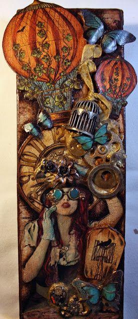 "Victoria's Art Visions: ""Steampunk Spells"""