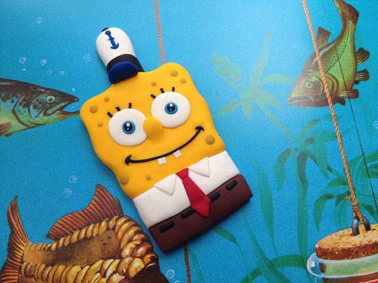 Spongebob fimo handmade!