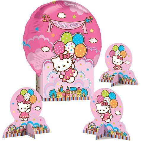 Hello Kitty Balloon Table Decoration Centerpiece *** For more information, visit image link.Note:It is affiliate link to Amazon.