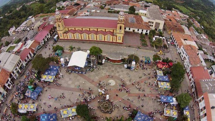Parque Nacional del Folclor, Vélez en época de Ferias y Fiestas. Foto de Nelcy Yolima Olaya Mantilla