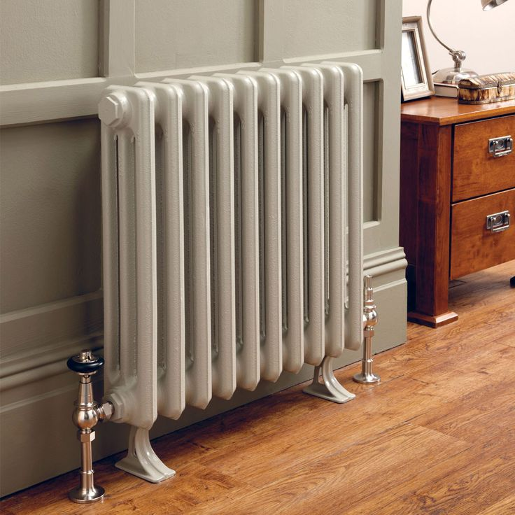 Priory | PRIO2C58 | Traditional Cast Iron Radiators | Hunt Heating - radiator valves, s/s and higher floor mounts
