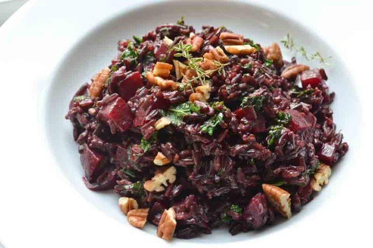 Bietjes en Zwarte Rijst Salade - Blij Suikervrij