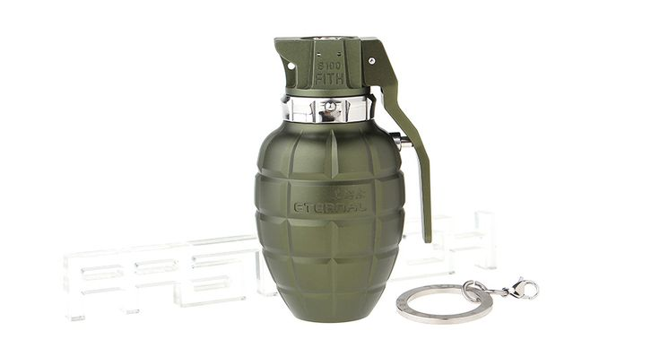 FiTH S100 Grenade Shape 18350 Mechanical Mod