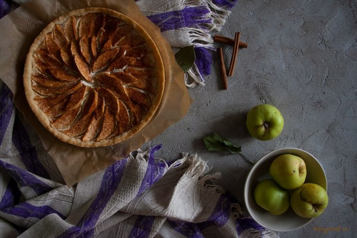 Баварский яблочный пирог с рикоттой