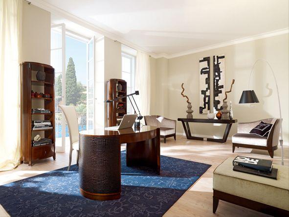Home Office VENDÔME designed by Lorenzo Bellini #SELVA #furniture #desk #homeoffice