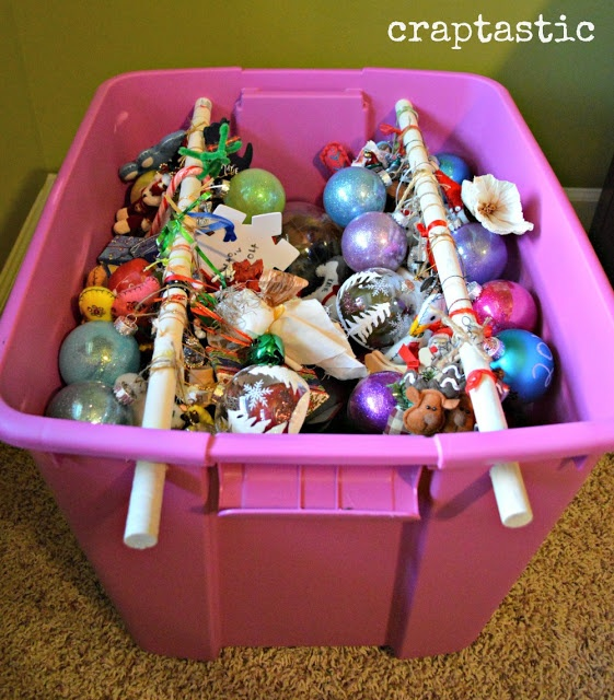 Creative Reader Projects No. 183: Inspiring Decor, Crafts, Makeovers and  Recipes. Christmas Ornament StorageChristmas ... - Best 20+ Christmas Ornament Storage Ideas On Pinterest Ornament