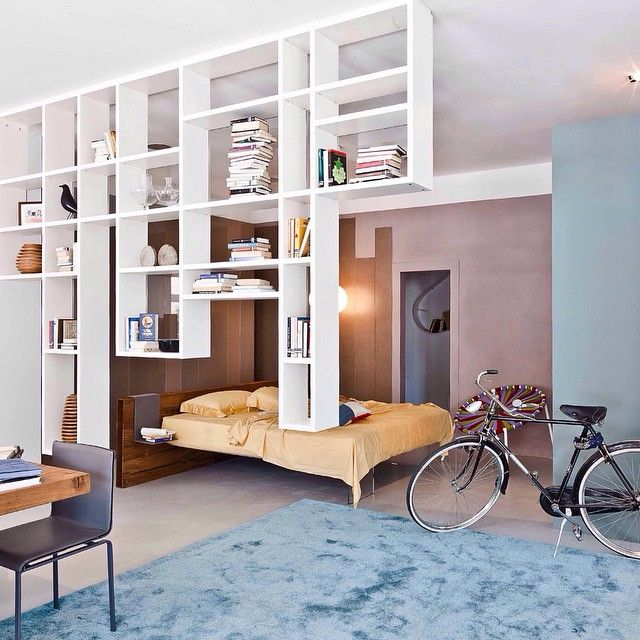 Down from the ceiling. Space matters! Discover all the solutions to keep your space organized on www.lago.it ••• #lagodesign #homedecor #decoration #home #architecture #style #cool