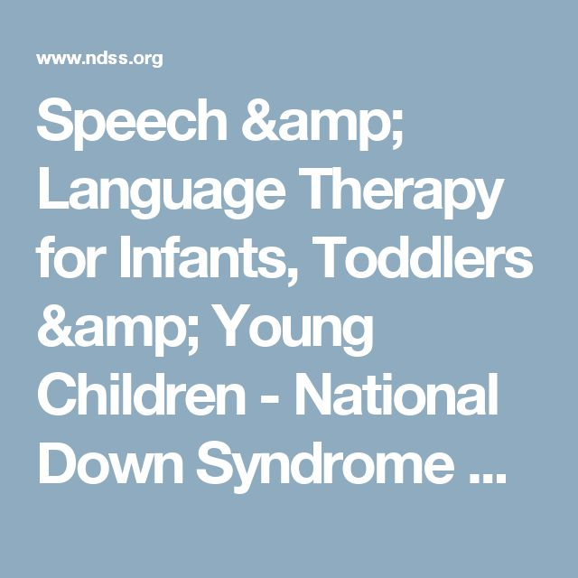 the speech and language deficits of children with down syndrome Down syndrome, assessment and intervention for young children (age 0-3  years)  aided aac systems among individuals with hearing loss and  disabilities davis  journal of speech, language, and hearing research, 49(2) , 248-264.