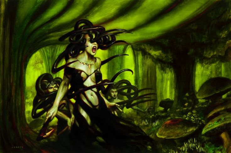 Sisters of stone death by Donato Giancola, Magic the ... | 736 x 488 jpeg 59kB