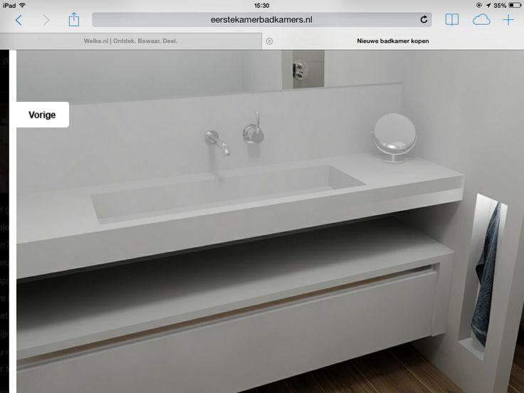 40 best Badkamer images on Pinterest   Bathroom, Modern bathrooms ...