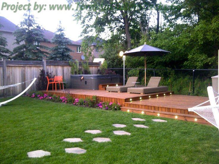 decks and patios | ... cedar patio deck (6) Cedar Patio decks and landscaping design