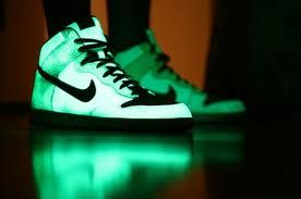 glow in the dark nike high tops