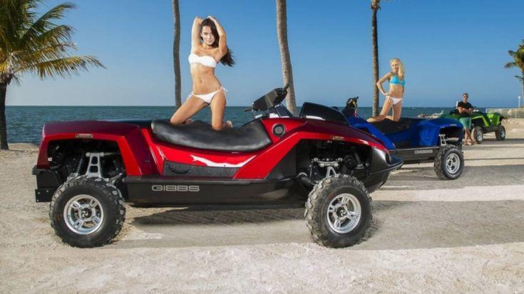Gibbs Quadski Xxl Amphibien Quad Mit Bmw Motoro