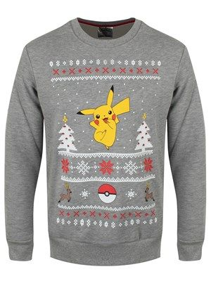 This could quite possibly be the ultimate Christmas jumper for gamers! Using a seasonal fair isle design, it features Pikachu taking centre stage whilst being surrounded by pokeballs, trees and a very festive looking Stantler. Train your Pokemon to enjoy all the holidays have to offer by embracing the Christmas spirit with this awesome jumper! Official Merchandise.