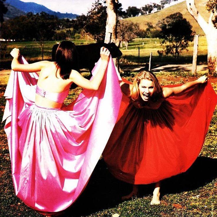 Vogue (Australia) December 1995 | Chloe Maxwell & Alyssa Sutherland
