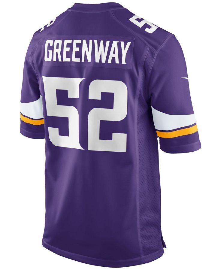 ... Nike Mens Chad Greenway Minnesota Vikings Game Jersey Seattle Seahawks  18 Sidney Rice ... d8838cf3b19