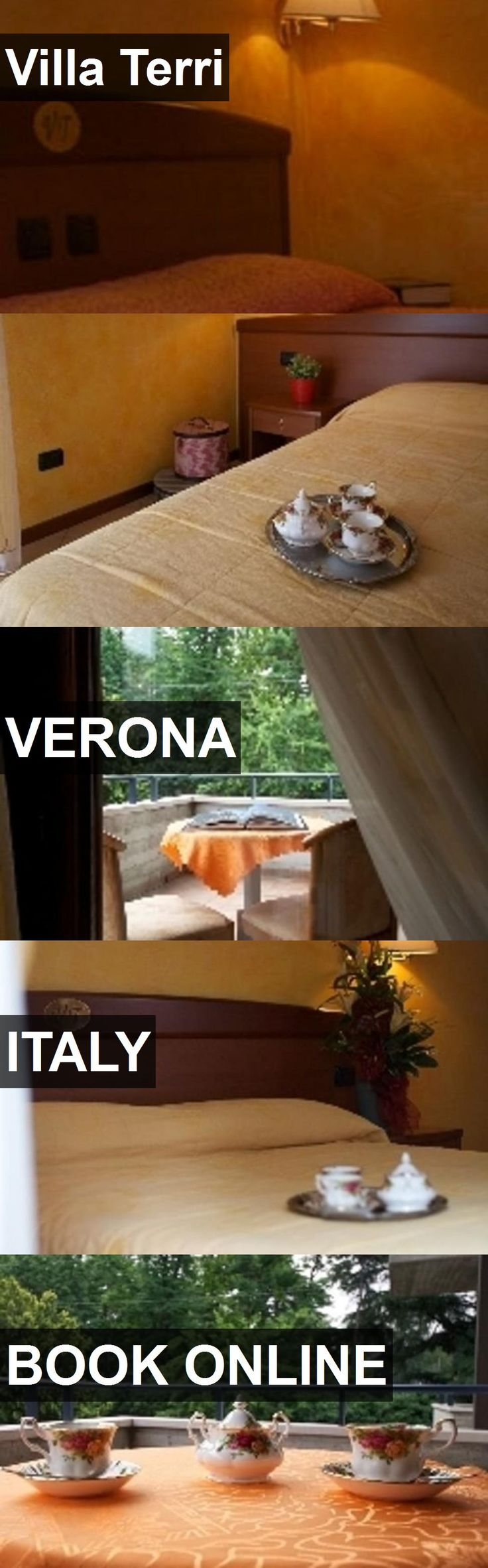 Hotel Villa Terri in Verona, Italy. For more information, photos, reviews and best prices please follow the link. #Italy #Verona #VillaTerri #hotel #travel #vacation