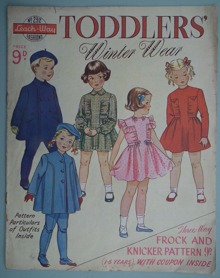 childrens patterns for sewing uk | Vintage Sewing Patterns Catalog 1940s 1950s - Childrens Clothing ...
