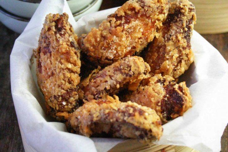Koreaanse gefrituurde kip (met een superkrokant jasje) - Culy.nl