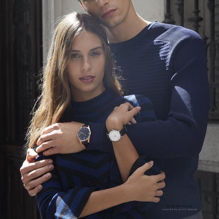 We dwoje czas płynie lepiej #Bering #beringwatch #minimalism #office #zegarek #zegarki #watches #butikiswiss #butiki #swiss