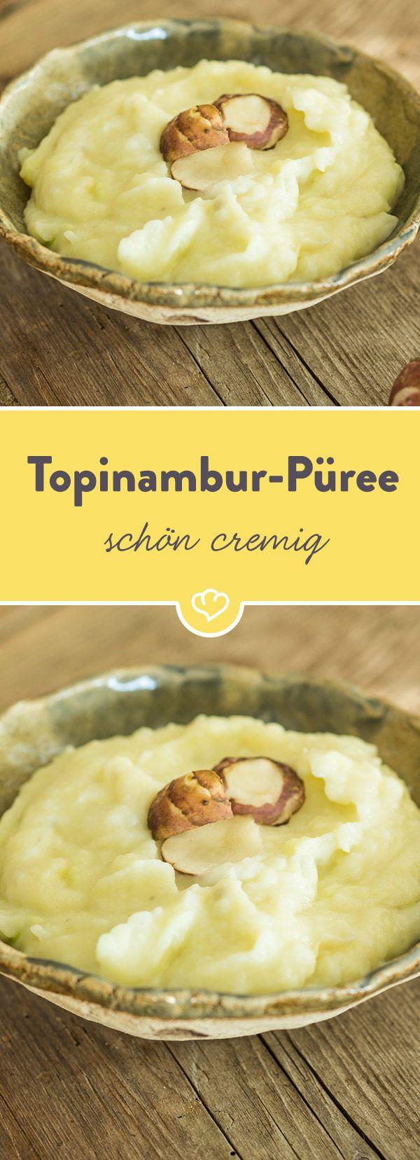 Eine wunderbar cremige Alternative zu Kartoffelpüree. Die Knolle verleiht dem Püree eine samtige Textur und überzeugt mit seinem nussigen Aroma.